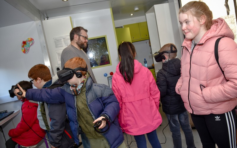 inSPIREd Family Fun Day - VR Minecraft Workshop
