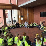 School visit to The Lyric as part of Belfast Children's Festival 2018
